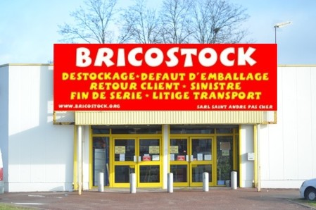 Bricostock, magasin de meubles, St andre de Cubzac